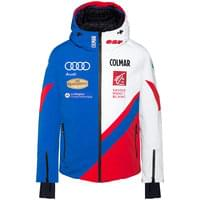 Technologie COLMAR COLMAR JACKET CYBER BLUE-BRIGHT RED-WHITE 19 - Ekosport