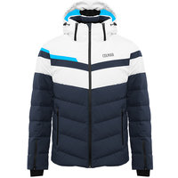 COLMAR FREESKI DOWN SKI JKT BLUE BLK/WHITE/BLUE BLK 20