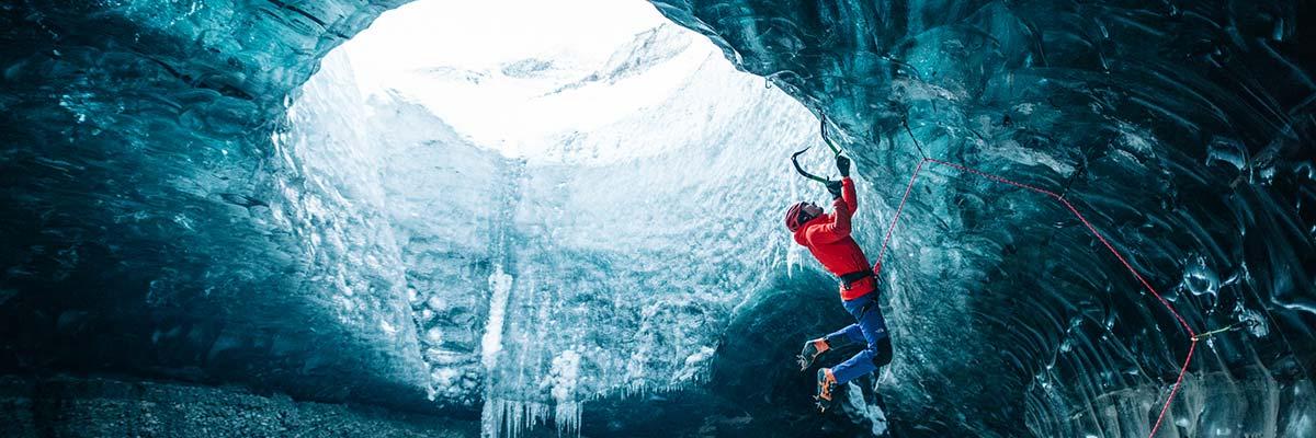 Alpinisme cascade de glace The North Face
