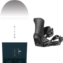 NITRO TEAM GULLWING 2020 + SALOMON DISTRICT BLACK 2020 25% auf Ekosport