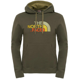 Haut THE NORTH FACE THE NORTH FACE DREW PEAK PULLOVER HOODIE BLACK INK GREEN 16 - Ekosport