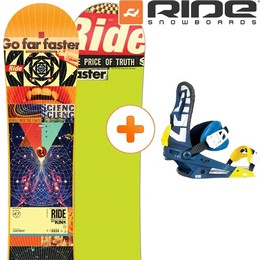 Pack Board+fix RIDE RIDE KINK 14 + NITRO ZERO NAVY 14 - Ekosport