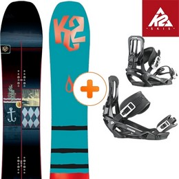Pack Board+fix K2 K2  ULTRA DREAM 14 + SALOMON PACT BLK 14 - Ekosport