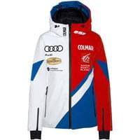 Technologie COLMAR COLMAR JACKET W WHITE-BRIGHT RED-CYBER BLUE 19 - Ekosport