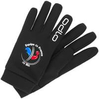 ODLO GANTS STRETCHFLEECE LINER WARM FAN BLACK 20