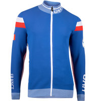 Boutique UYN UYN MAN NATYON FRANCE OW KNITTED 2ND LAYER FULL ZIP FRANCE 21 - Ekosport