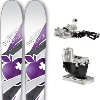 Pack ski+fix MOVEMENT MOVEMENT SWEET APPLE W 15 + LOOK DYNASTAR ALTI 12 15 - Ekosport