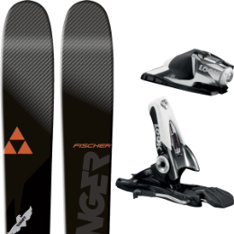 Pack ski+fix FISCHER FISCHER RANGER 90 TI 16 + LOOK SPX 12 B90 BLACK/CHROME 15 - Ekosport