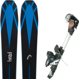 Pack ski+fix HEAD HEAD COLLECTIVE 105 16 + ATOMIC TRACKER 13 MNC BLK/SIL 15 - Ekosport