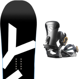 Pack Board+fix YES YES BASIC 18 + SALOMON TRIGGER BLACK 18 - Ekosport