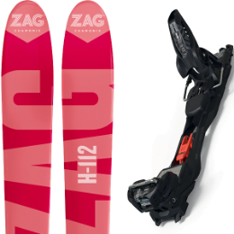 Collection ZAG ZAG H112 19 + MARKER DUKE PRO EPF 18 BLACK 20 - Ekosport