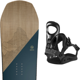 Pack Board+fix NIDECKER NIDECKER ESCAPE 19 + DRAKE KING BLACK 19 - Ekosport