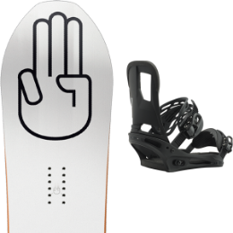 Matériel BATALEON BATALEON MAGIC CARPET 19 + BURTON CARTEL BLACK MATTE 19 - Ekosport