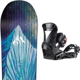 BU SKI JONES JONES WM'S AIRHEART 20 + SALOMON MIRAGE BLACK 20 - Ekosport