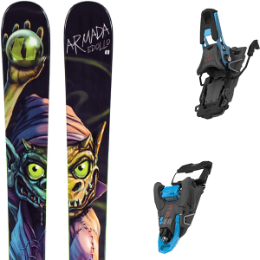 BU SKI ARMADA ARMADA EDOLLO 20 + SALOMON S/LAB SHIFT MNC BLUE/BLACK SH100 20 - Ekosport