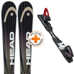 Pack ski+fix HEAD HEAD REV 70 PR + PR 11 14 - Ekosport