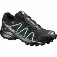 SALOMON SPEEDCROSS 4 GTX W BK/BK/METALLIC 19