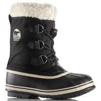 SOREL CHILDREN YOOT PAC NYLON BLACK 19