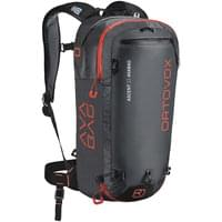 ORTOVOX ASCENT 22 AVABAG KIT REGULAR NOIR ANTHRACITE 20