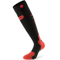 LENZ HEAT SOCK 5.0 TOE CAP BLK/WH/RED 20