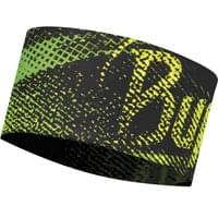 Bonnet et Bandeau BUFF BUFF UV HEADBAND FLASH LOGO YELLOW FLUOR 19 - Ekosport