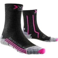 X-SOCKS DOUBLE MID W ANTHRACITE/FUSHIA 17