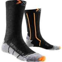 X-SOCKS DOUBLE MID ANTHRACITE/ORANGE 17