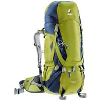 DEUTER AIRCONTACT 45+10 MOUSSE/NAVY 18