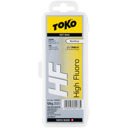Fart TOKO TOKO HF HOT WAX 120G YELLOW 19 - Ekosport