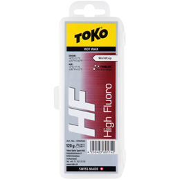 Fart TOKO TOKO HF HOT WAX 120G RED 19 - Ekosport