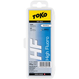 Fart TOKO TOKO HF HOT WAX 120G BLUE 19 - Ekosport