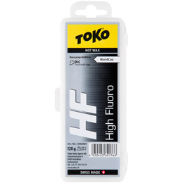 Fart TOKO TOKO HF HOT WAX 120G BLACK 19 - Ekosport