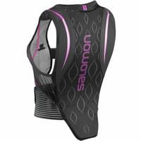 SALOMON BACK PROTE FLEXCELL W BLACK/PURPLE 21