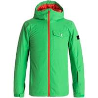 QUIKSILVER MISSION SOLID YOUTH JKT KELLY GREEN 18
