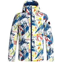 Modèle QUIKSILVER QUIKSILVER MISSION PRINTED YOUTH JKT WHITE YTH THUNDERBOLTS 18 - Ekosport