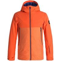 QUIKSILVER SIERRA YOUTH JKT MANDARIN RED 18