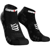 COMPRESSPORT PRORACING SOCKS V3.0 RUN LOW BLACK 19