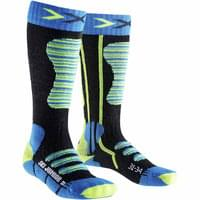 X-SOCKS SKI JUNIOR TURQUOISE/JAUNE 19