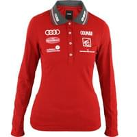 COLMAR POLO REPLICA W BRIGHT RED 18