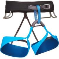 BLACK DIAMOND SOLUTION HARNESS MEN'S BLACK/ULTRABLUE 20