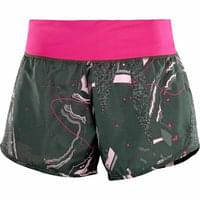 SALOMON ELEVATE 2IN1 SHORT W URBAN CHIC/PINK YARROW 18