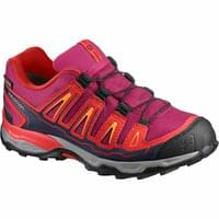 SALOMON X-ULTRA GTX JR SANGRIA/POPPY RED/BRIGHT MARIGOLD 20