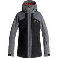 ROXY JOURNEY JKT J W TRUE BLACK 18