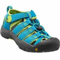 KEEN NEWPORT H2 CHILD HAWAIIAN BLUE/GREEN GLOW 21