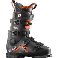 BU SKI SALOMON SALOMON S/MAX 100 BLACK/ORANGE/WH 20 - Ekosport