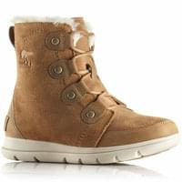 SOREL EXPLORER JOAN CAMEL BROWN/ANCIENT FOSSIL 20