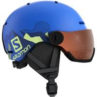 Boutique SALOMON SALOMON GROM VISOR POP BLUE MAT/UNIV. 21 - Ekosport