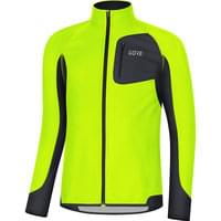 Vêtement trail running GORE GORE R3 PARTIAL GWS SHIRT NEON YELLOW/BLACK 19 - Ekosport