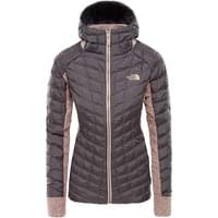 THE NORTH FACE W THB HYBRID GL HDE RABBIT GRY/MISTY ROSE HEATHR 19