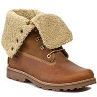TIMBERLAND AUTH 6IN SHRL BT MD KID BROWN 18